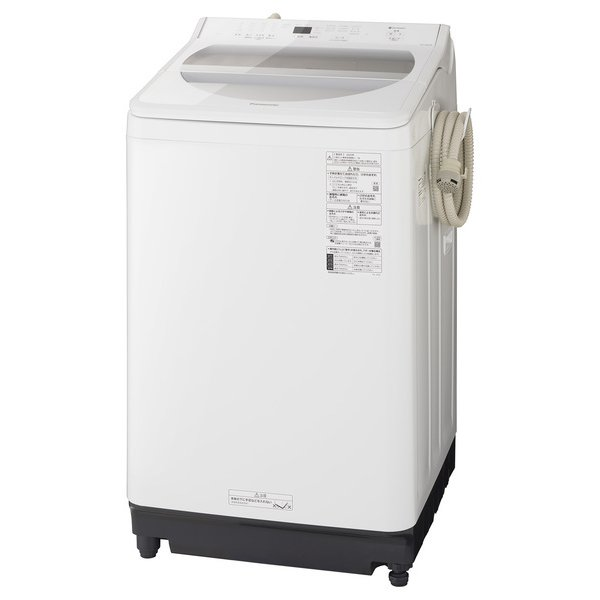 【標準設置対応付】パナソニック NA-FA90H8-W [全自動洗濯機 洗濯9kg 泡洗浄 ホワイト]