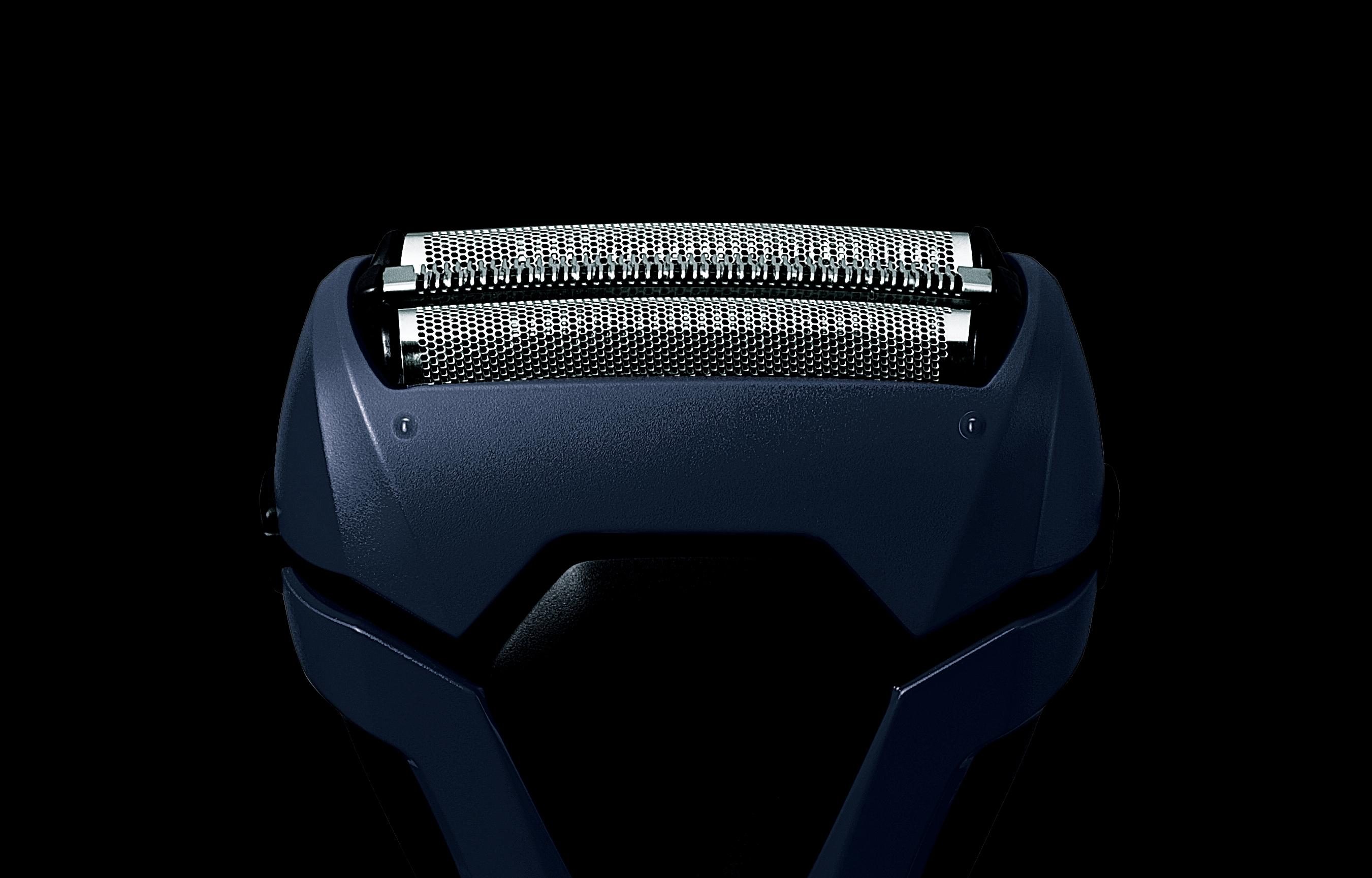 【パナソニック】メンズシェーバー(3枚刃) 幅65×奥行44×高さ160mm(キャップを除く) 青