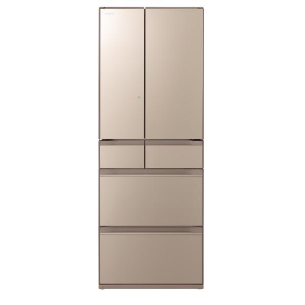 【標準設置対応付】日立冷蔵庫(498L・フレンチドア) 6ドア ファインシャンパンR-KX50N XN