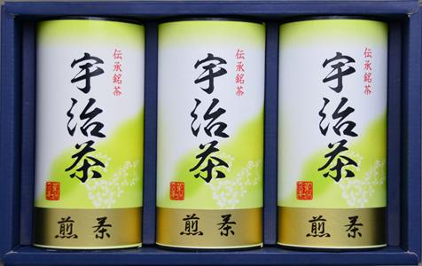 【京都府】京都府産宇治茶詰合せ 煎茶120g×3