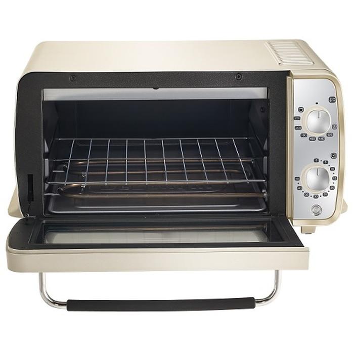 【デロンギ】ディスティンタ・ペルラ コレクションオーブン&トースター 幅435×奥345×高さ220mm イエロー
