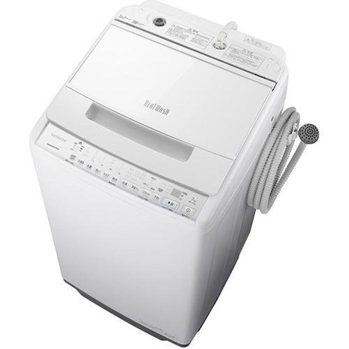 【標準設置対応付】日立 BW-V70G W 全自動洗濯機 ビートウォッシュ 洗濯7kg ホワイト