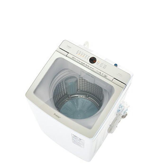 【標準設置対応付】AQUA AQW-VA14M(W) Prette プレッテ 簡易乾燥機能付き洗濯機 14.0kg