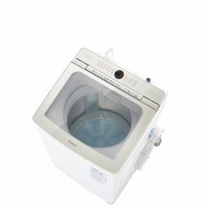 【標準設置対応付】AQUA AQW-VA10M(W) Prette プレッテ 簡易乾燥機能付き洗濯機 10.0kg