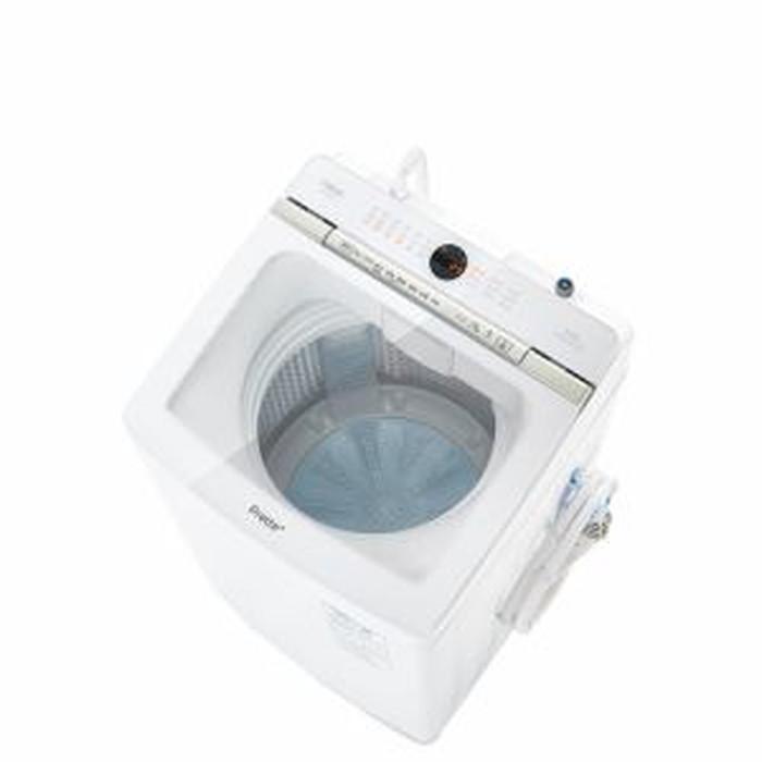 【標準設置対応付】AQUA AQW-VA9M(W) Prette プレッテ 簡易乾燥機能付き洗濯機 9.0kg