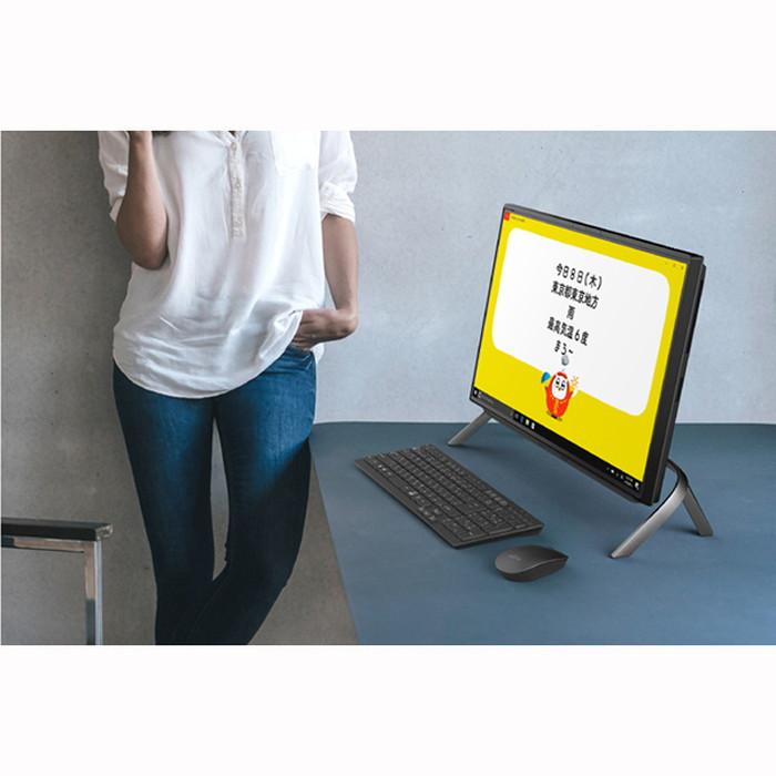【富士通】FMVF77E3B デスクトップパソコン ESPRIMO FHシリーズ/23.8型ワイド ブラック