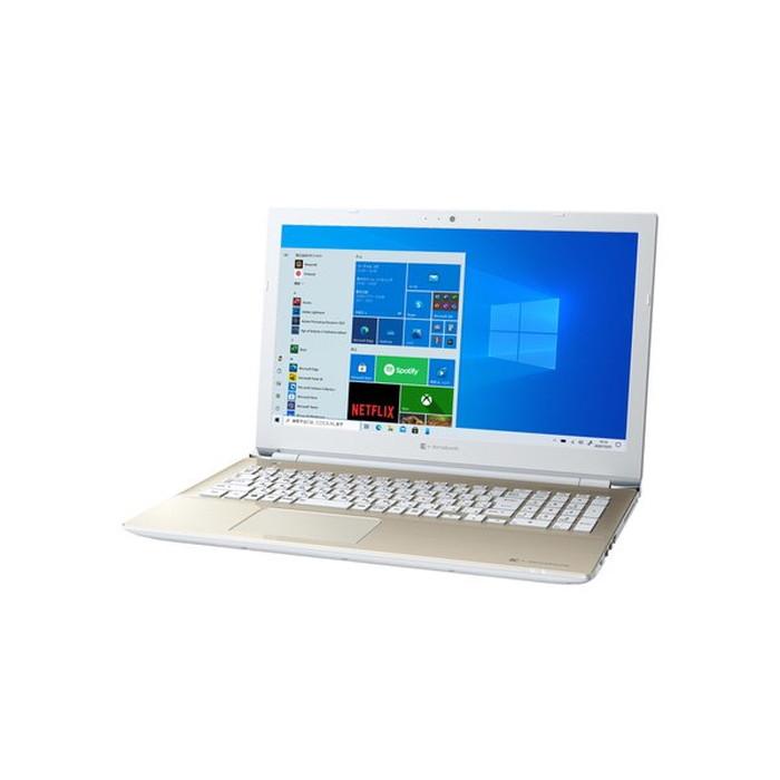 【Dynabook】P1X4NPEG ノートパソコン 15.6型/Celeron 4205U 1.8GHz サテンゴールド