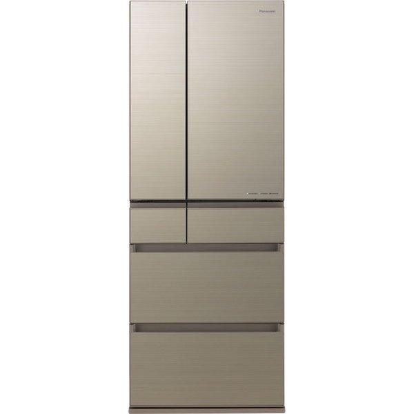 【標準設置対応付】パナソニック NR-F557HPX-N IoT対応冷蔵庫550L・フレンチドア 6ドア  アルベロゴールド