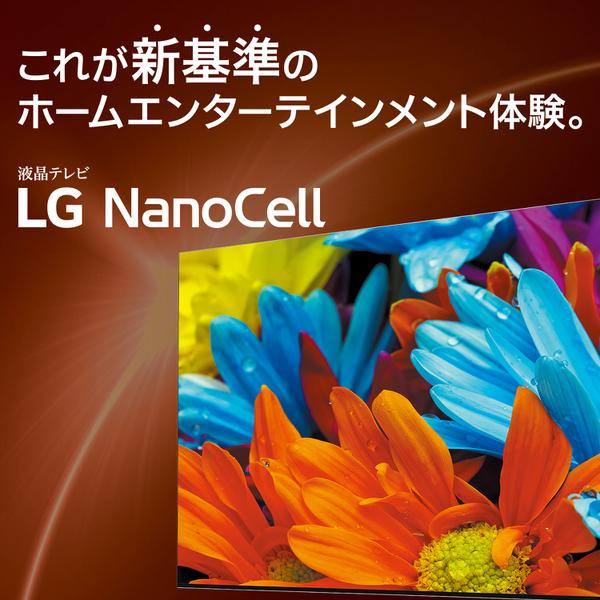 【標準設置対応付】【LG】65NANO76JPA 65V型 4K 地上・BS・110度CSデジタル液晶テレビ 4K対応