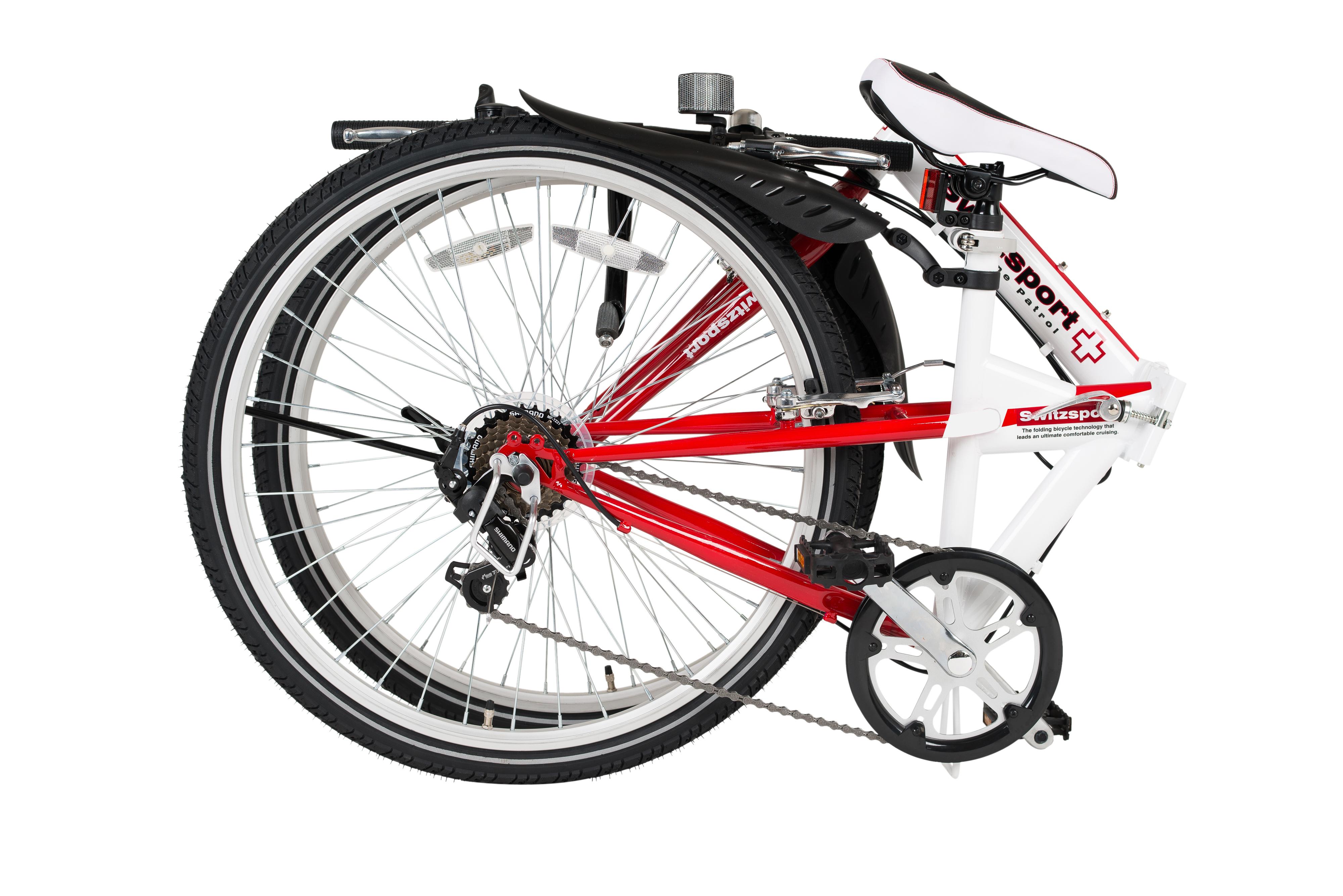 【スウィツスポート】26型クロスバイク折畳自転車
