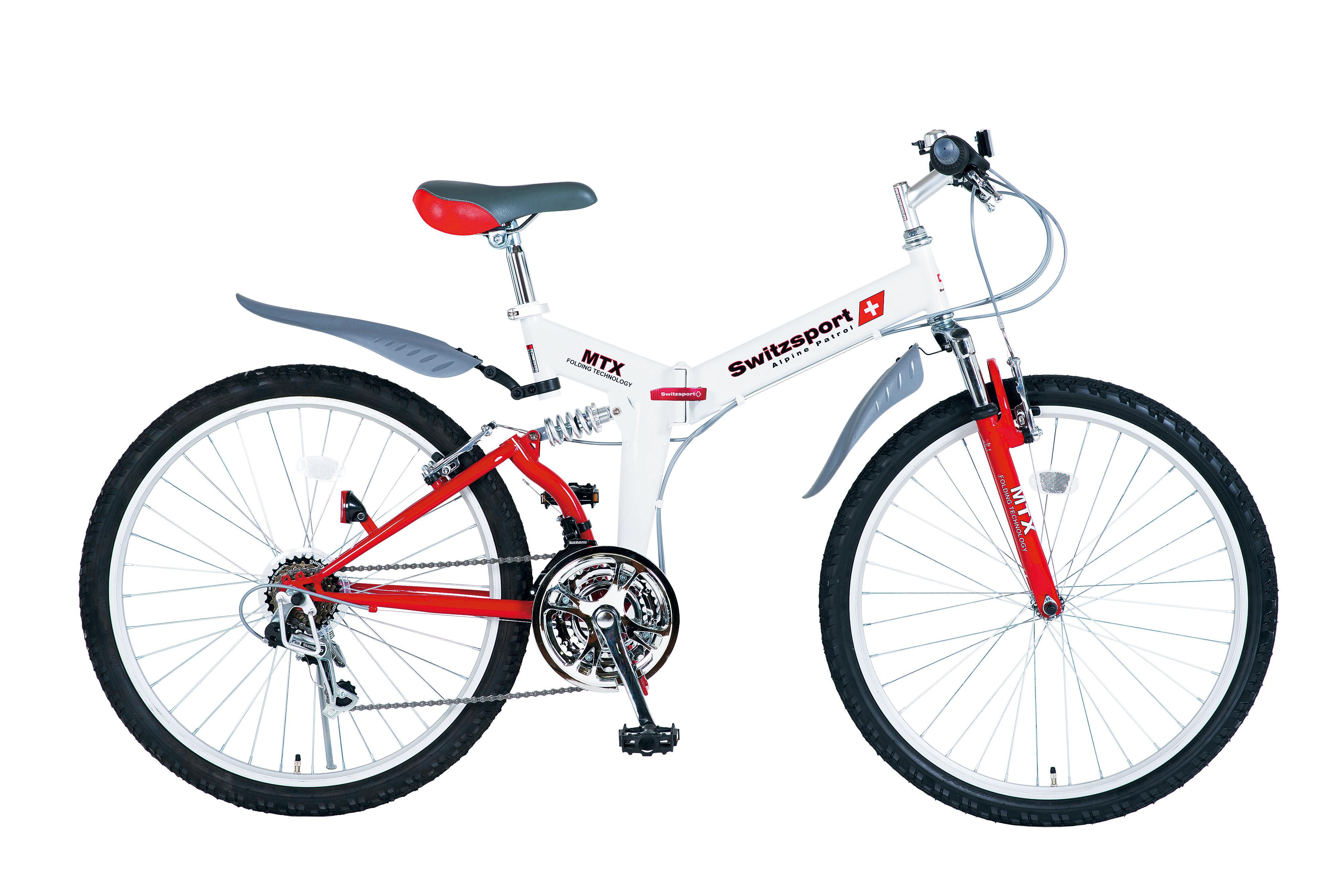 【スウィツスポート】26型折たたみ自転車
