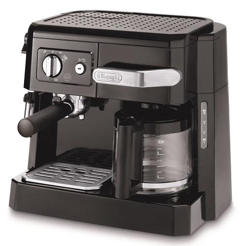 【デロンギ】コンビコーヒーメーカー 幅370×奥295×高さ320mm ブラック