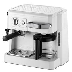 【デロンギ】コンビコーヒーメーカー 幅370×奥295×高さ320mm ホワイト