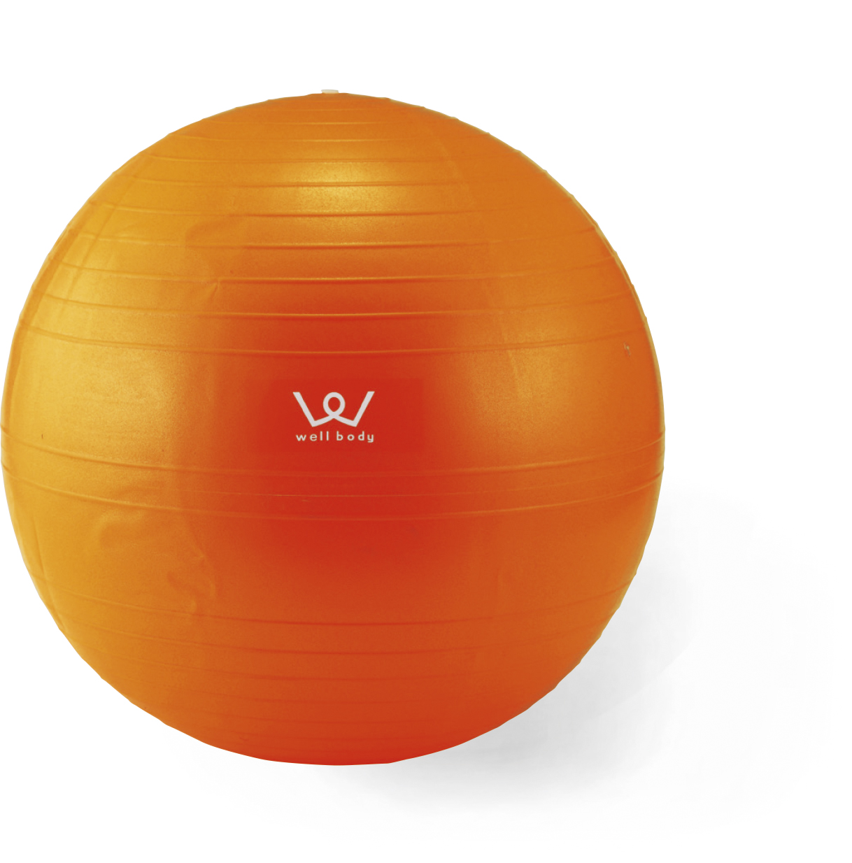 【アルインコ】エクササイズボール 55cm オレンジ