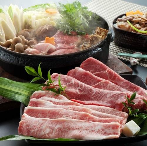 【千葉県】かずさ和牛すきしゃぶセット 1.2kg