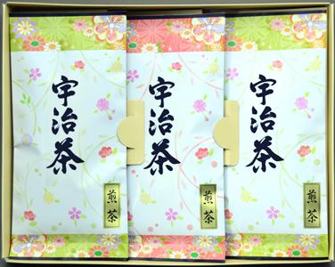 【京都府】京都府産宇治茶詰合せ 煎茶80g×3