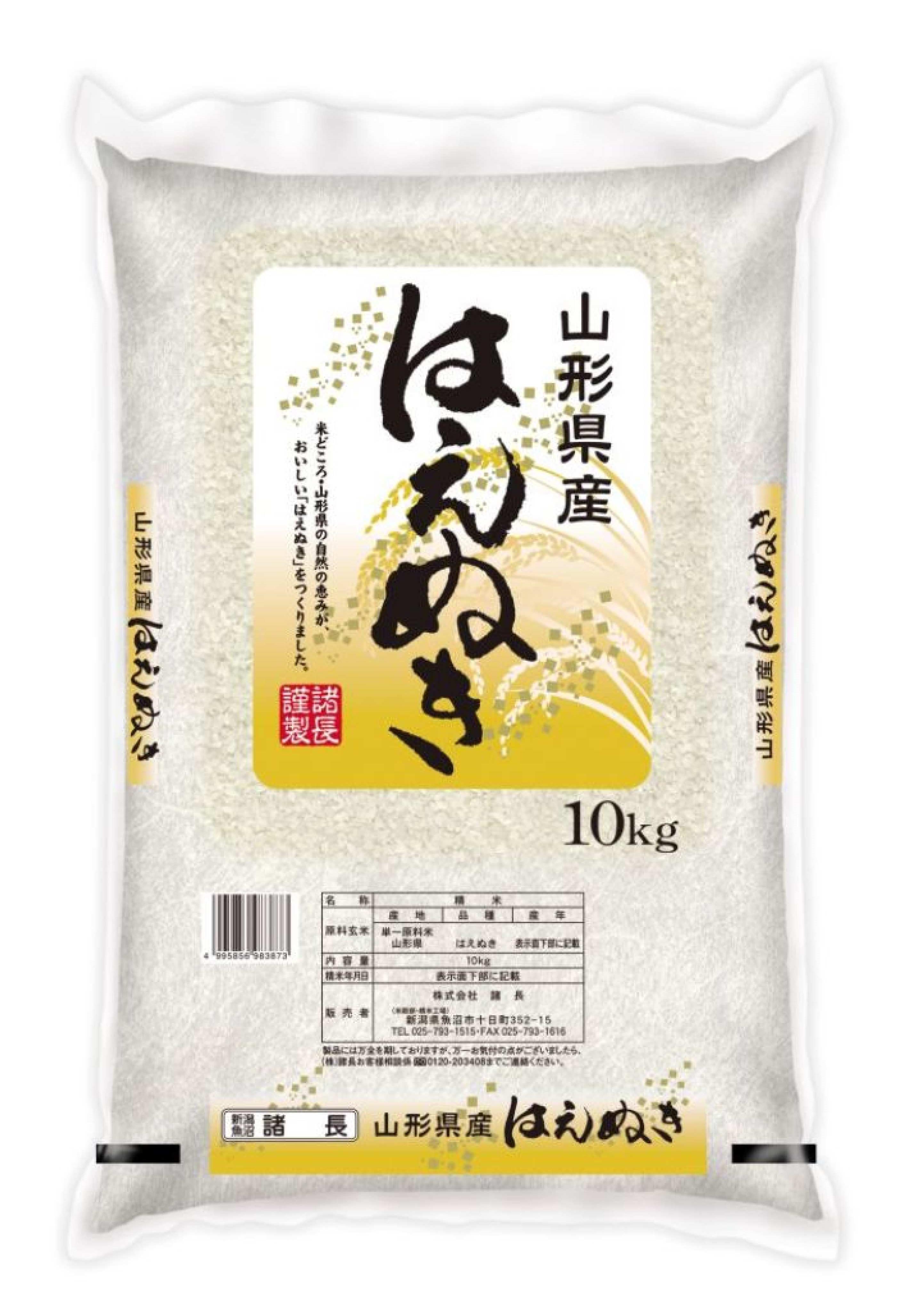 【山形県】山形産はえぬき 10kg