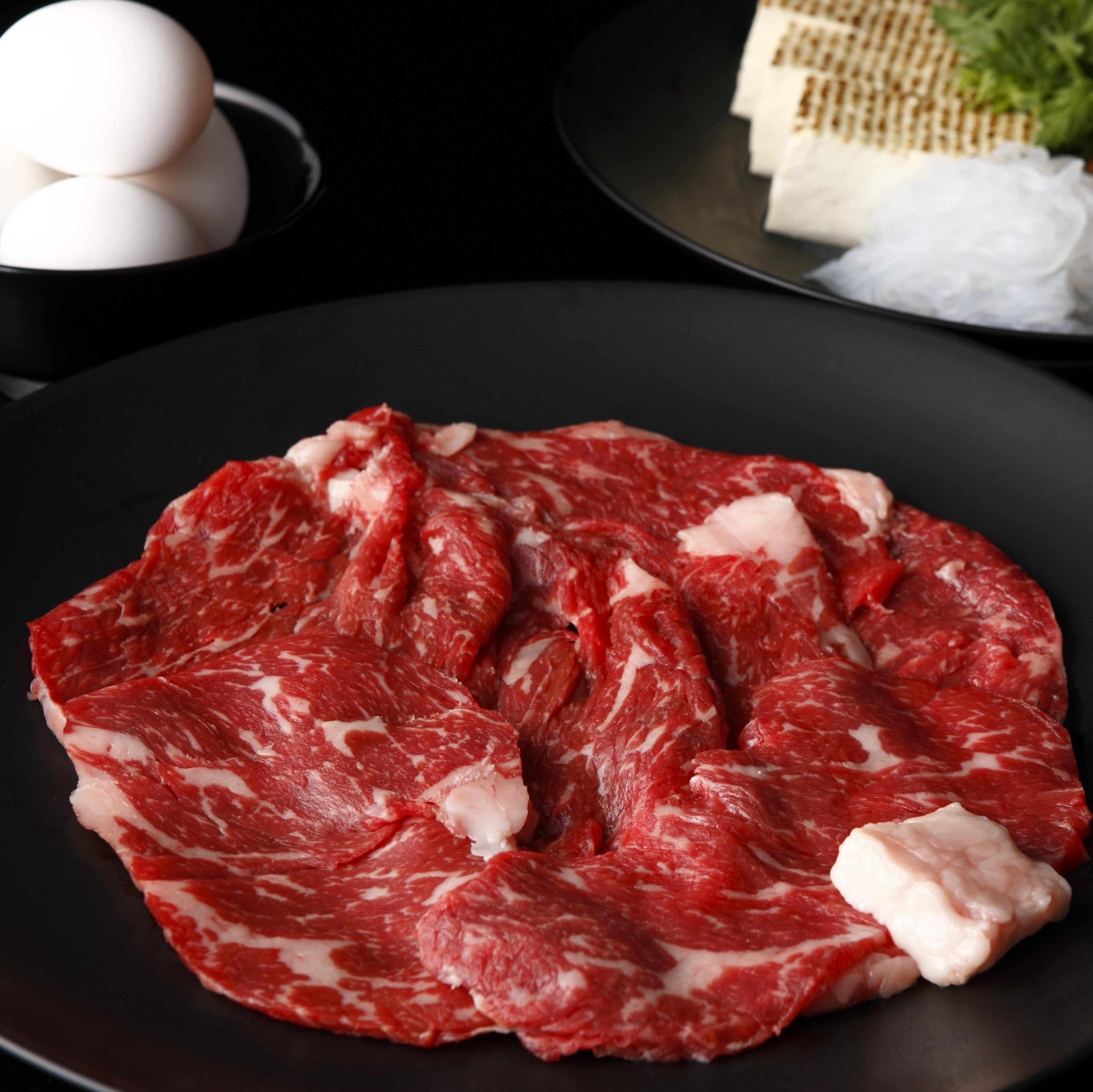 【北海道】宗谷黒牛モモすき焼き 600g