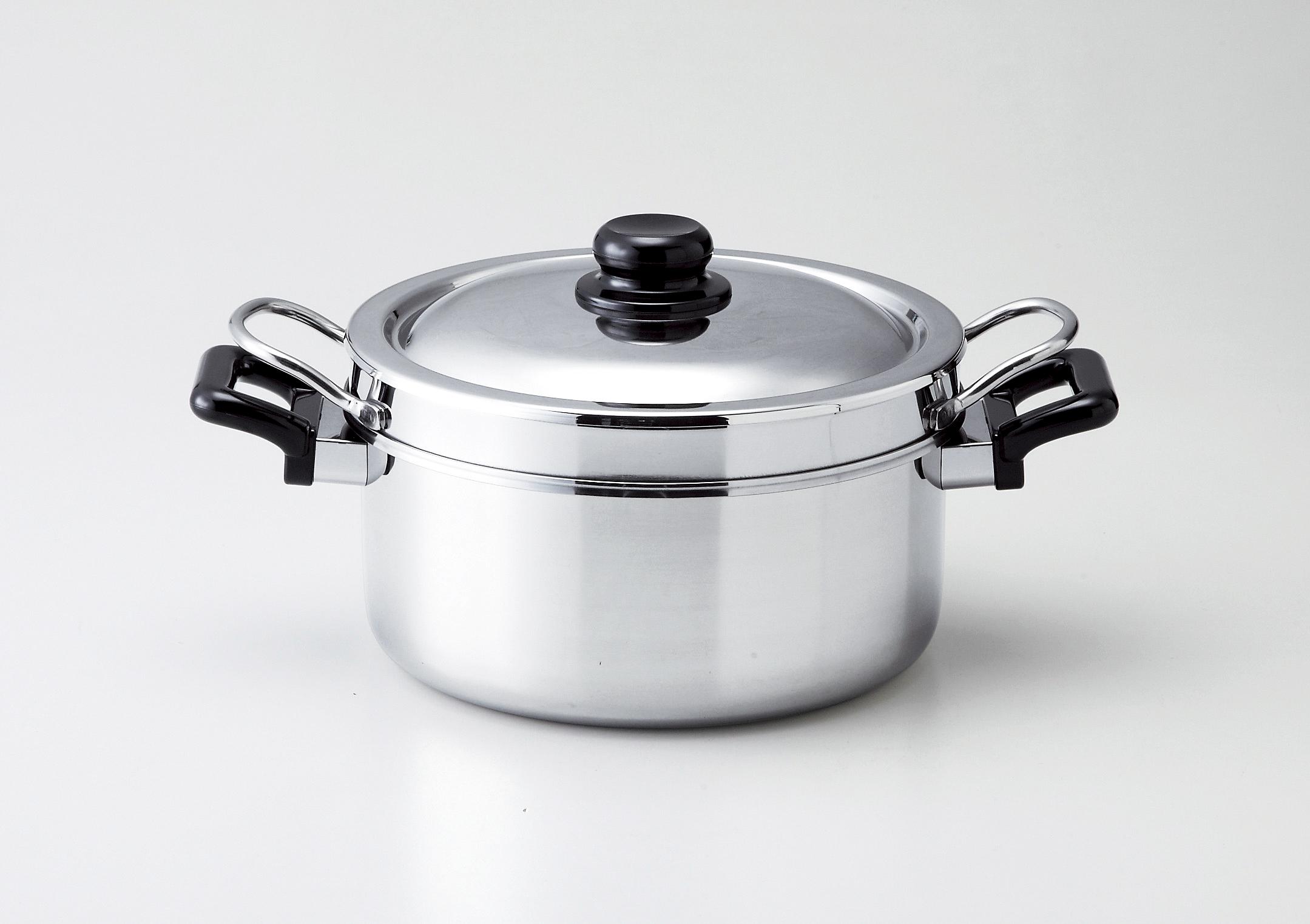 【霜龍器物】余熱&湯煎調理鍋セット 内鍋・外鍋 各1
