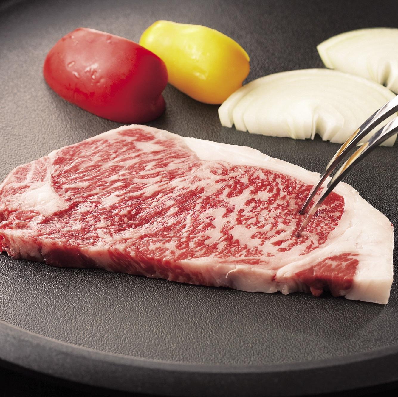 【鹿児島黒牛】サーロインステーキ 1kg