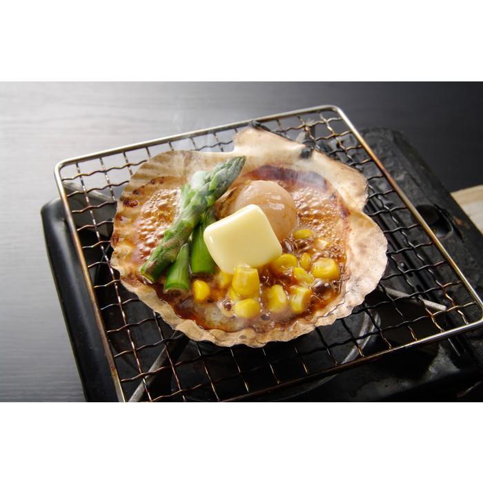 【北海道】ホタテバター焼きセット バター焼きセット(ホタテ・バター各1、カットアスパラ10g・コーン10g)×20