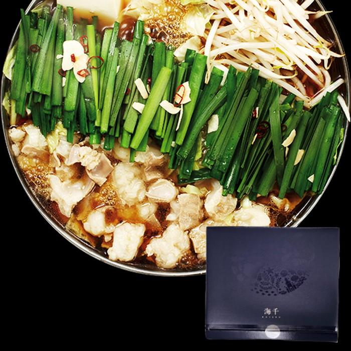 【福岡県】海千もつ鍋(醤油味)