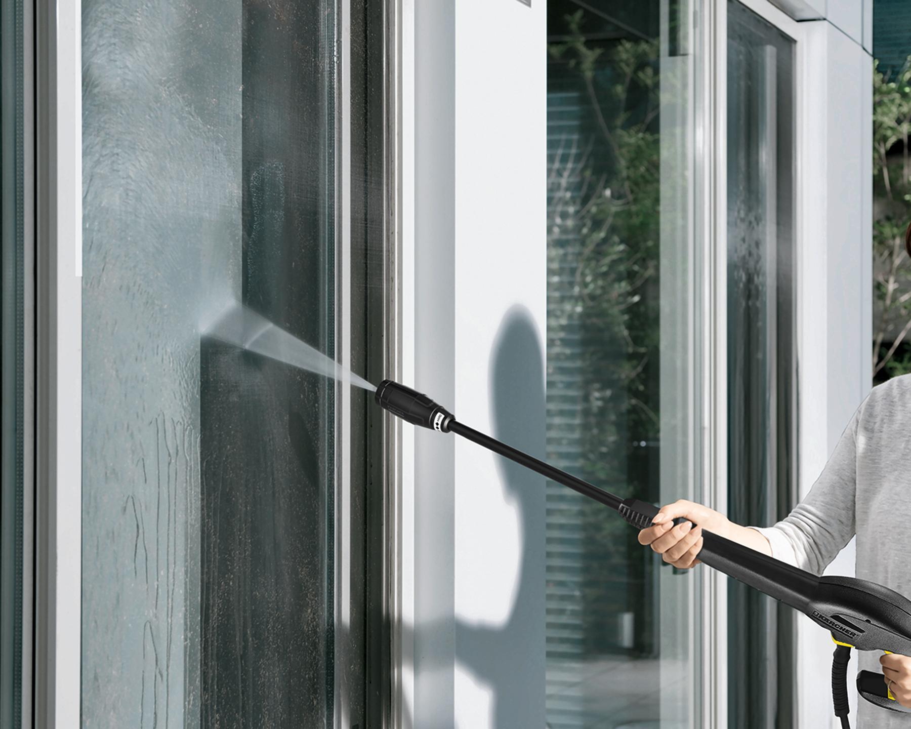 【ケルヒャージャパン】高圧洗浄機 K 2 サイレント 本体/約幅53.8×奥29.3×高さ30.3cm イエロー