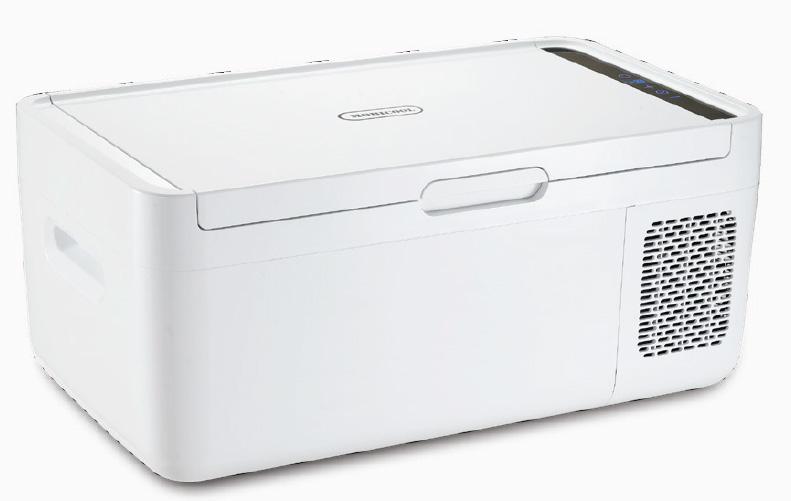 【ドメティック】2電源式コンプレッサー冷凍庫/冷蔵庫 ホワイト