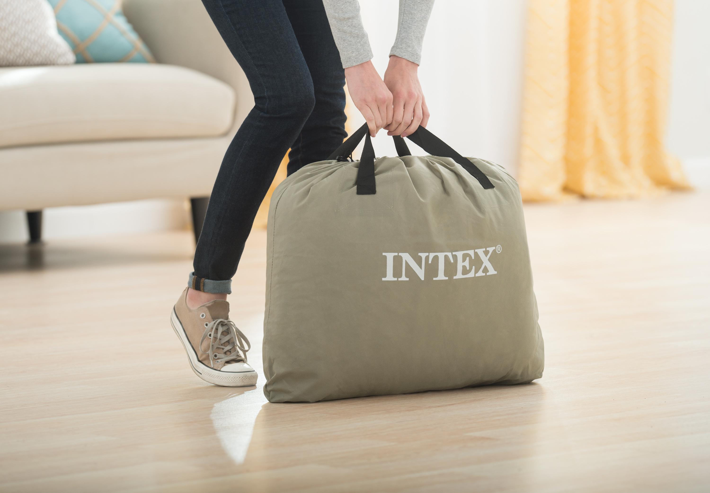 【INTEX】コンフォートプラッシュ シングル 使用時/約99×191×高さ33cm
