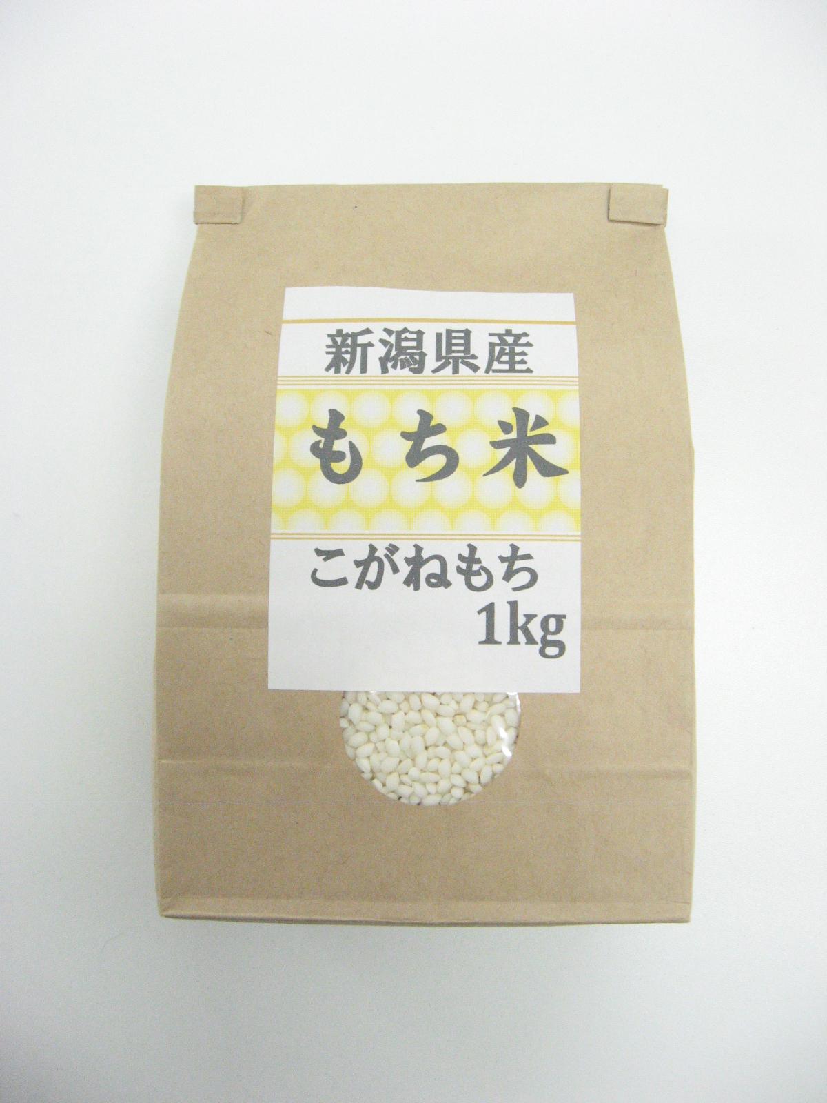 【新潟県】新潟県産こがねもち(もち米)1kg×10