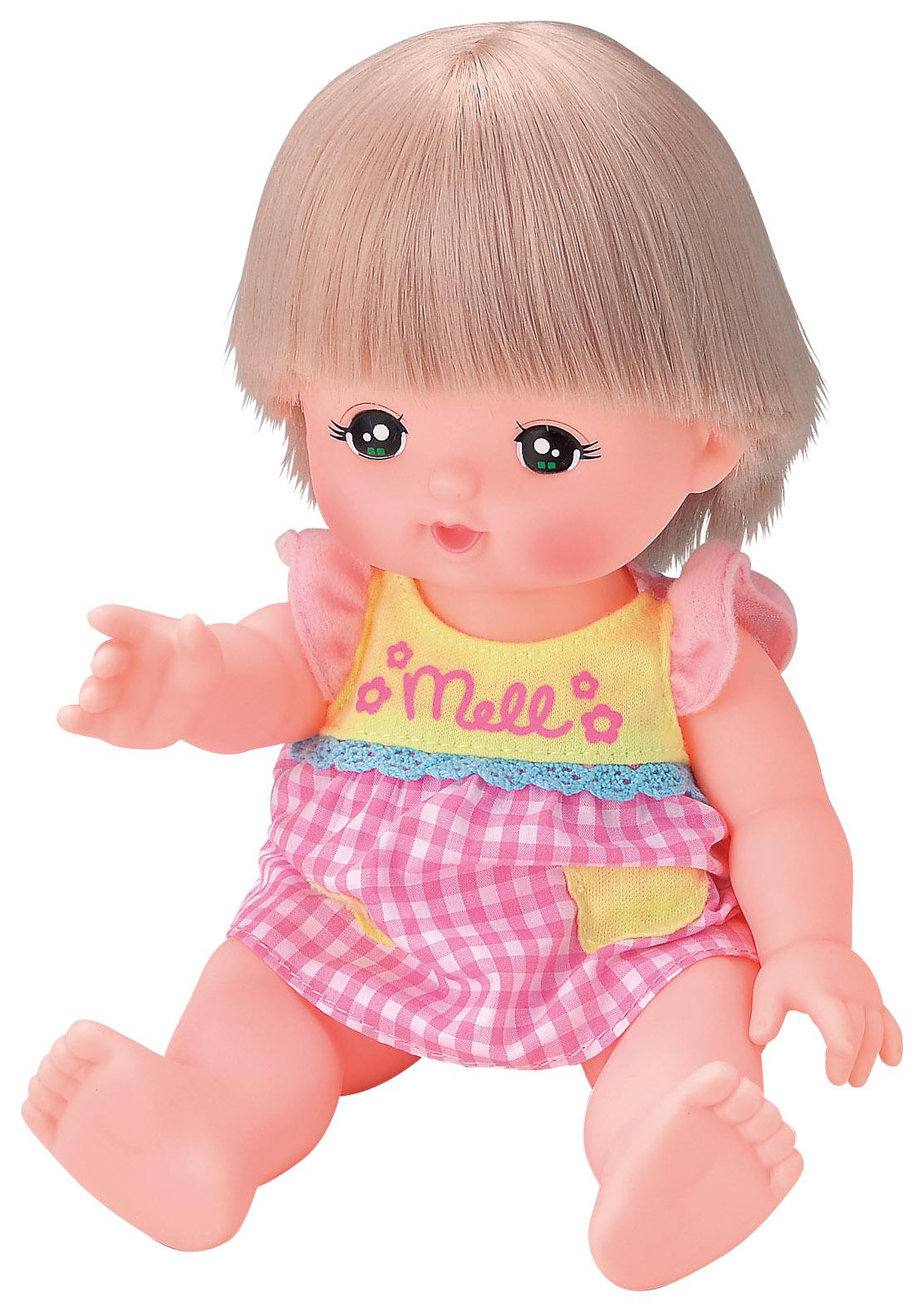 【WORLDTOYS(CAMBODIA)】おせわだいすきメルちゃん 人形(全長約26cm)