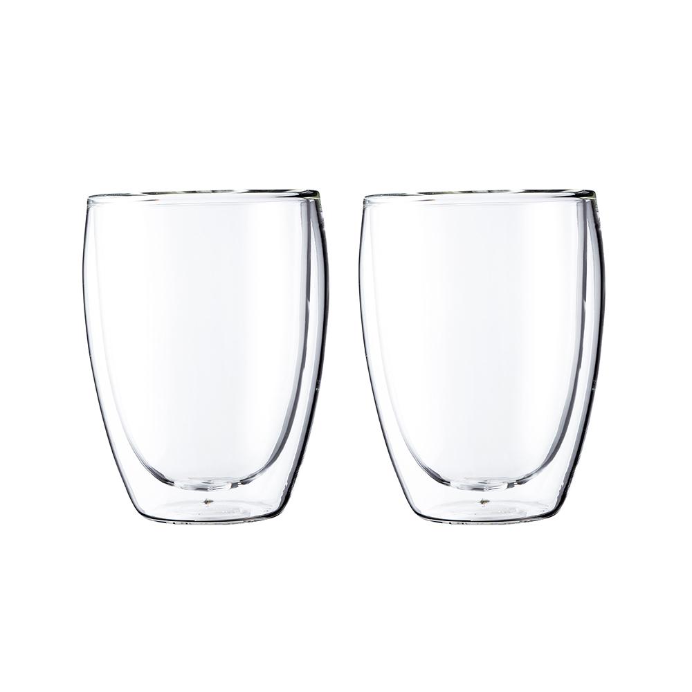 ボダム パヴィーナ ダブルウォールグラス0.35L