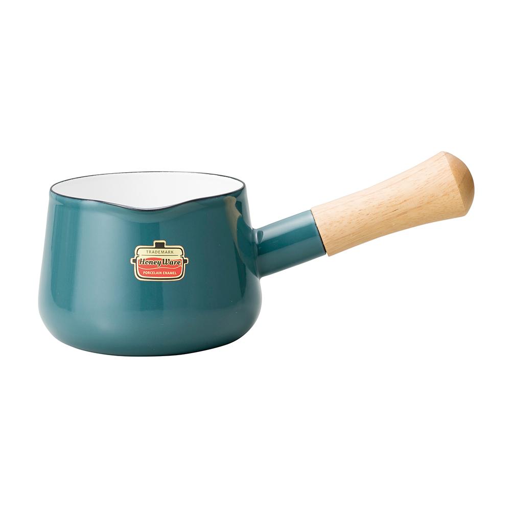 ハニーウェア ソリッド 12cmミルクパン(スモークブルー)