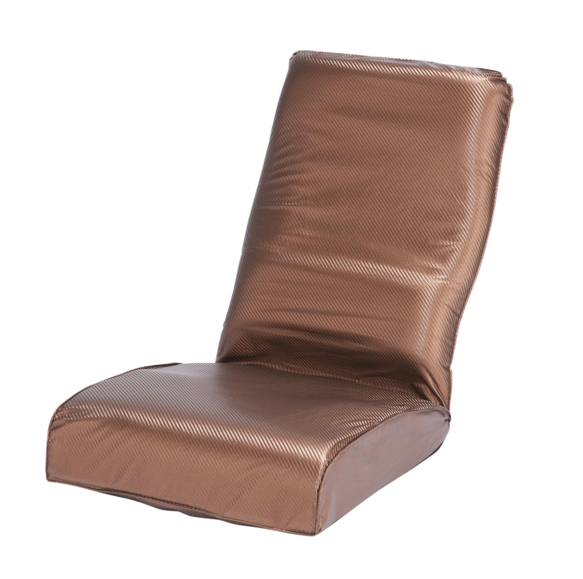 折りたたみ座椅子 カーボンブロンズ