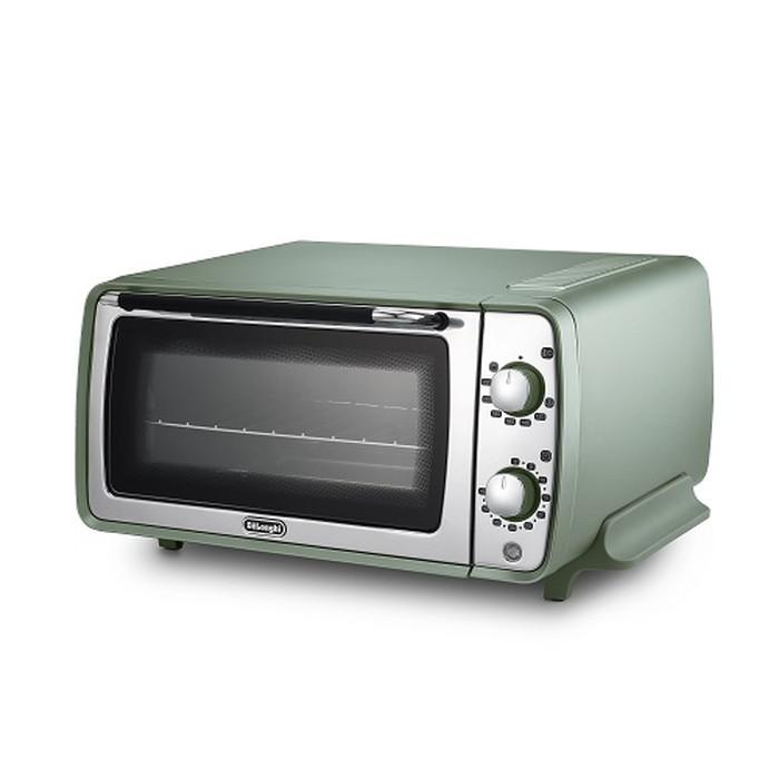 【デロンギ】ディスティンタ・ペルラ コレクションオーブン&トースター 幅435×奥345×高さ220mm グリーン