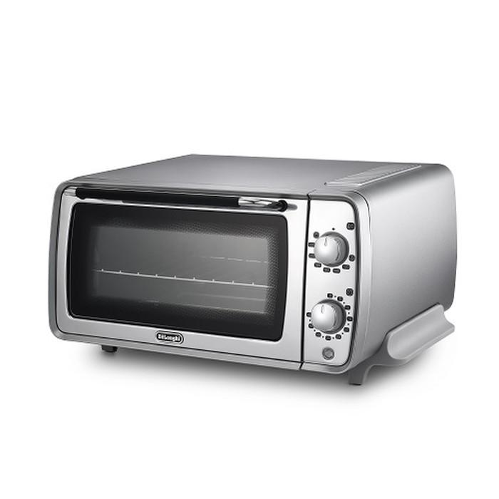 【デロンギ】ディスティンタ・ペルラ コレクションオーブン&トースター 幅435×奥345×高さ220mm シルバー