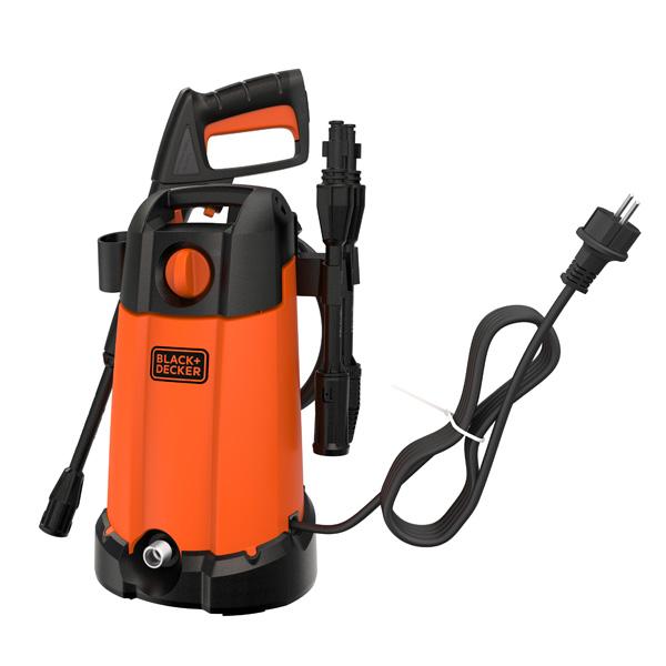 【ブラック アンド デッカー】高圧洗浄機コンパクトウオッシュ オレンジ
