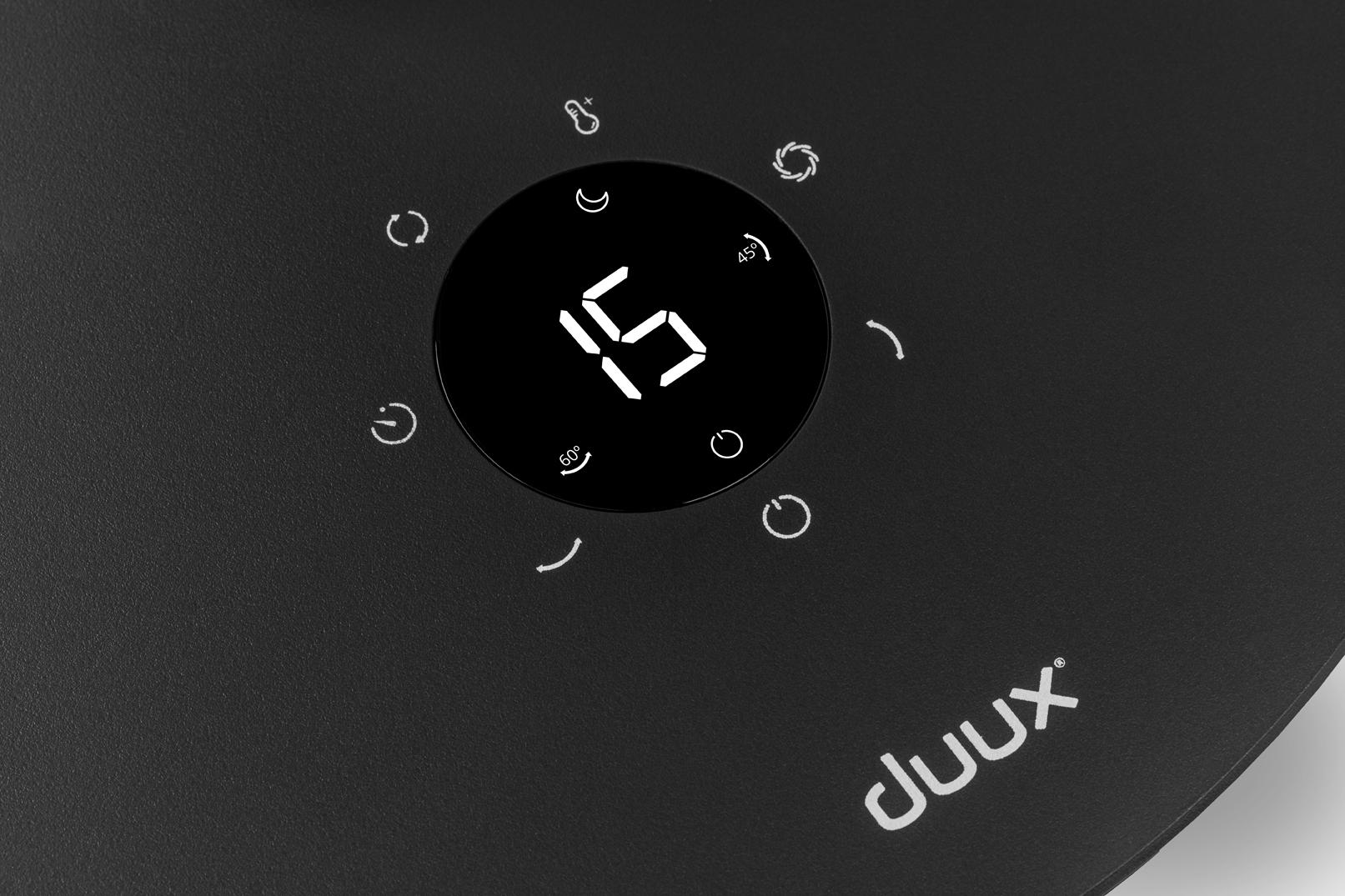 duux(デュクス)Whisper Flex Touch(ウィスパー フレックス タッチ)27センチ リビング扇 グレー