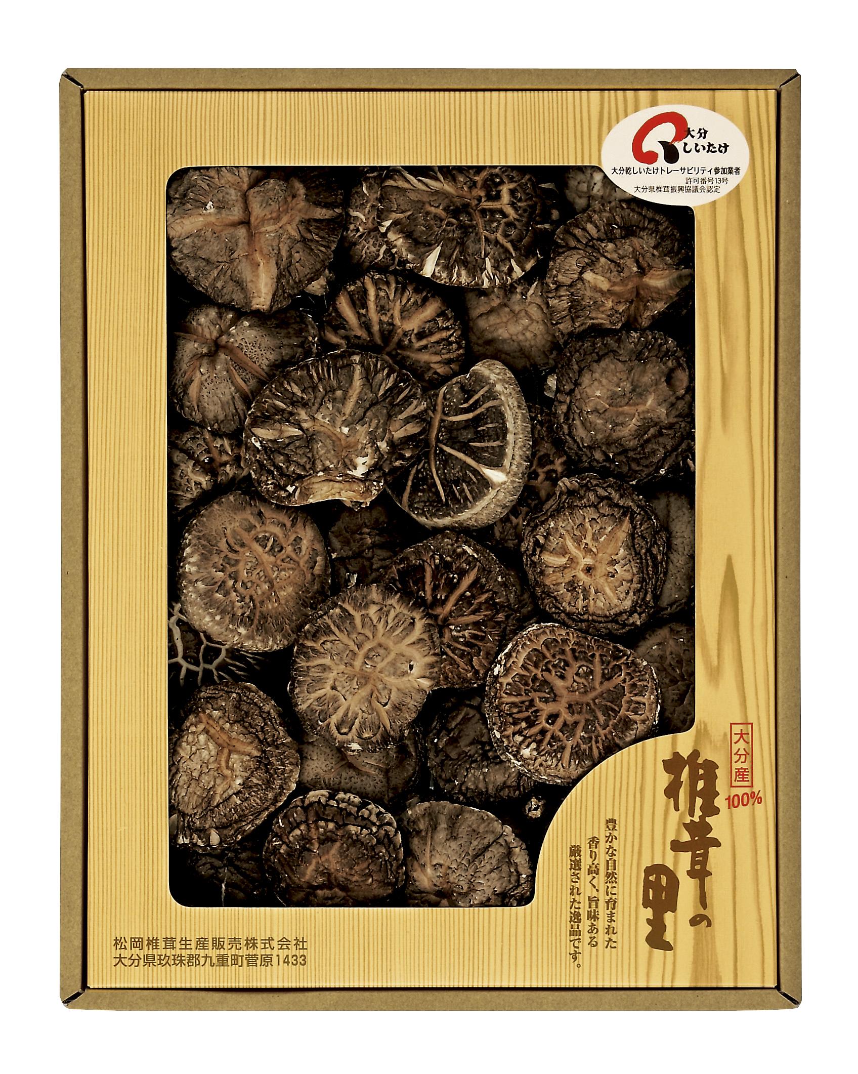 【大分県】大分産椎茸どんこ 175g