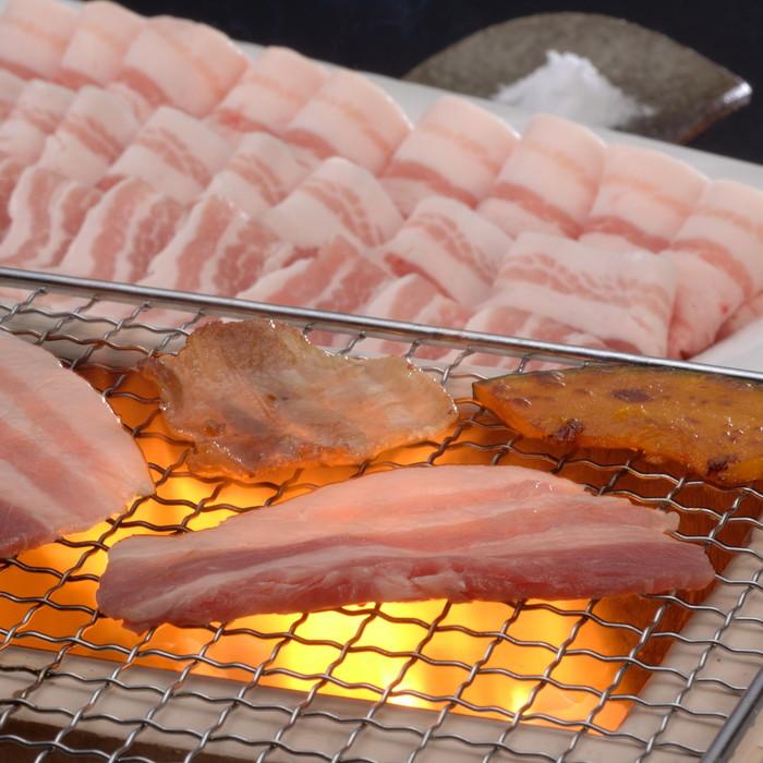 【山形県】山形豚バラ焼肉 1.2kg