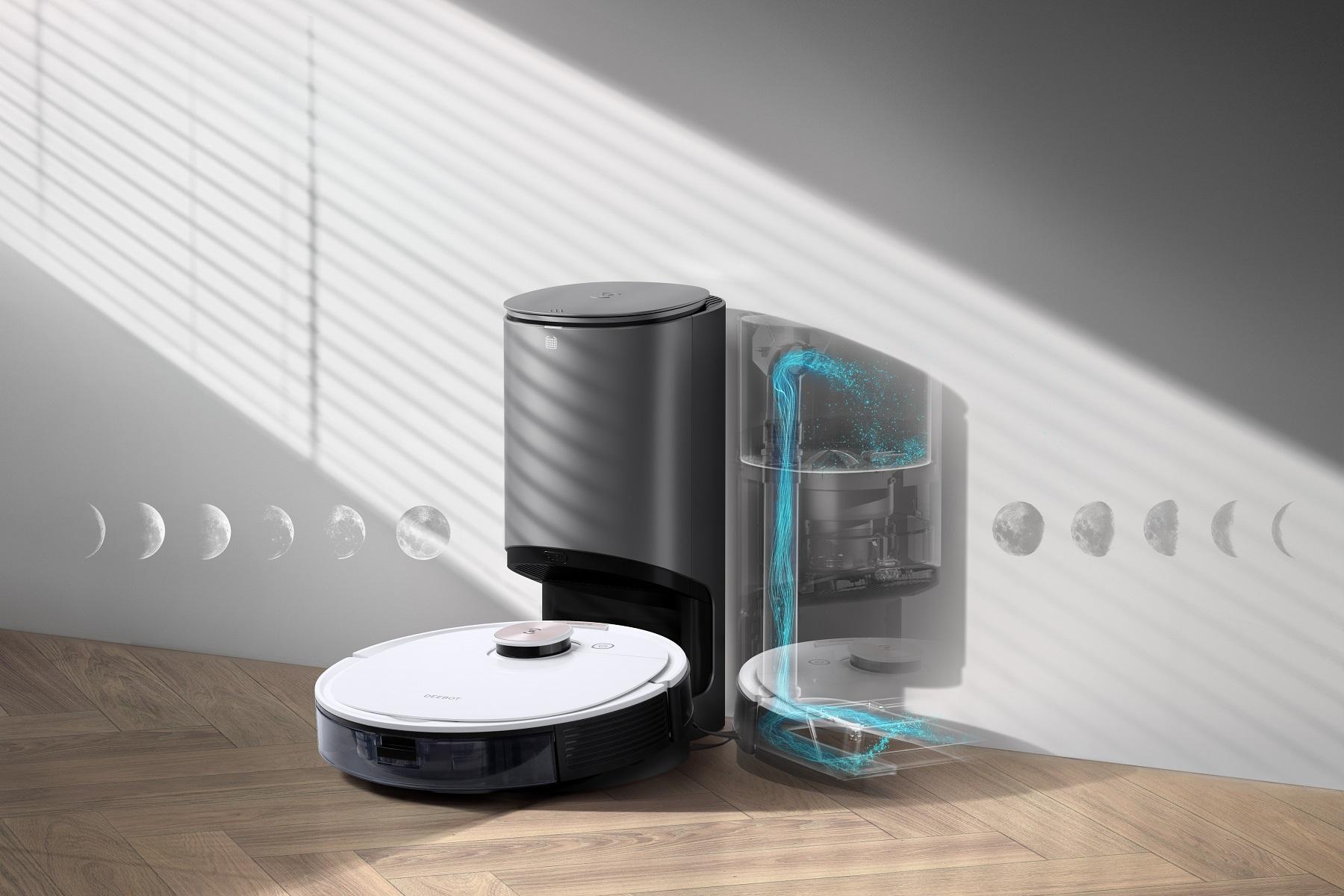 ロボット掃除機 DEEBOT OZMO T8+