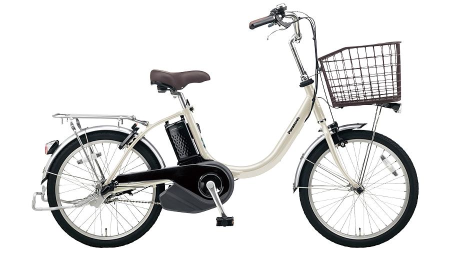 【パナソニック】電動アシスト自転車 ビビ・L 20インチ ウォームシルバー