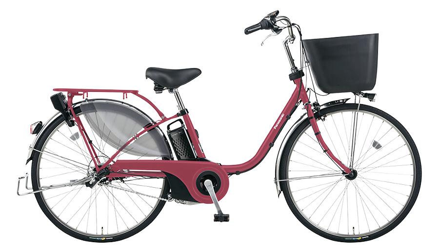 【パナソニック】電動アシスト自転車 ビビ・EX 24インチ マットルージュ