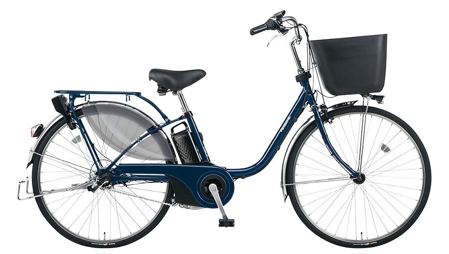 【パナソニック】電動アシスト自転車 ビビ・EX 24インチ USブルー
