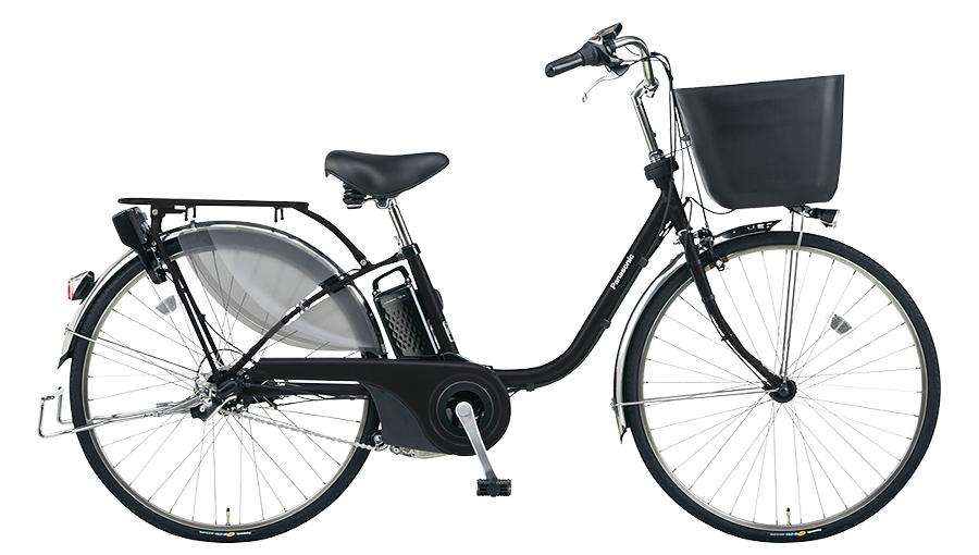 【パナソニック】電動アシスト自転車 ビビ・EX 26インチ マットブラック