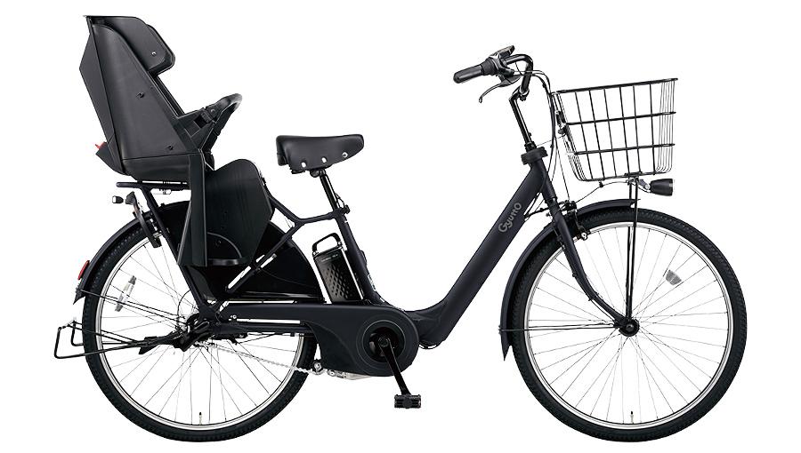 【パナソニック】電動アシスト自転車 ギュット・アニーズ・DX 26インチ マットジェットブラック