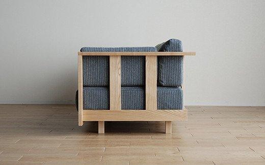 NAP blue sofa