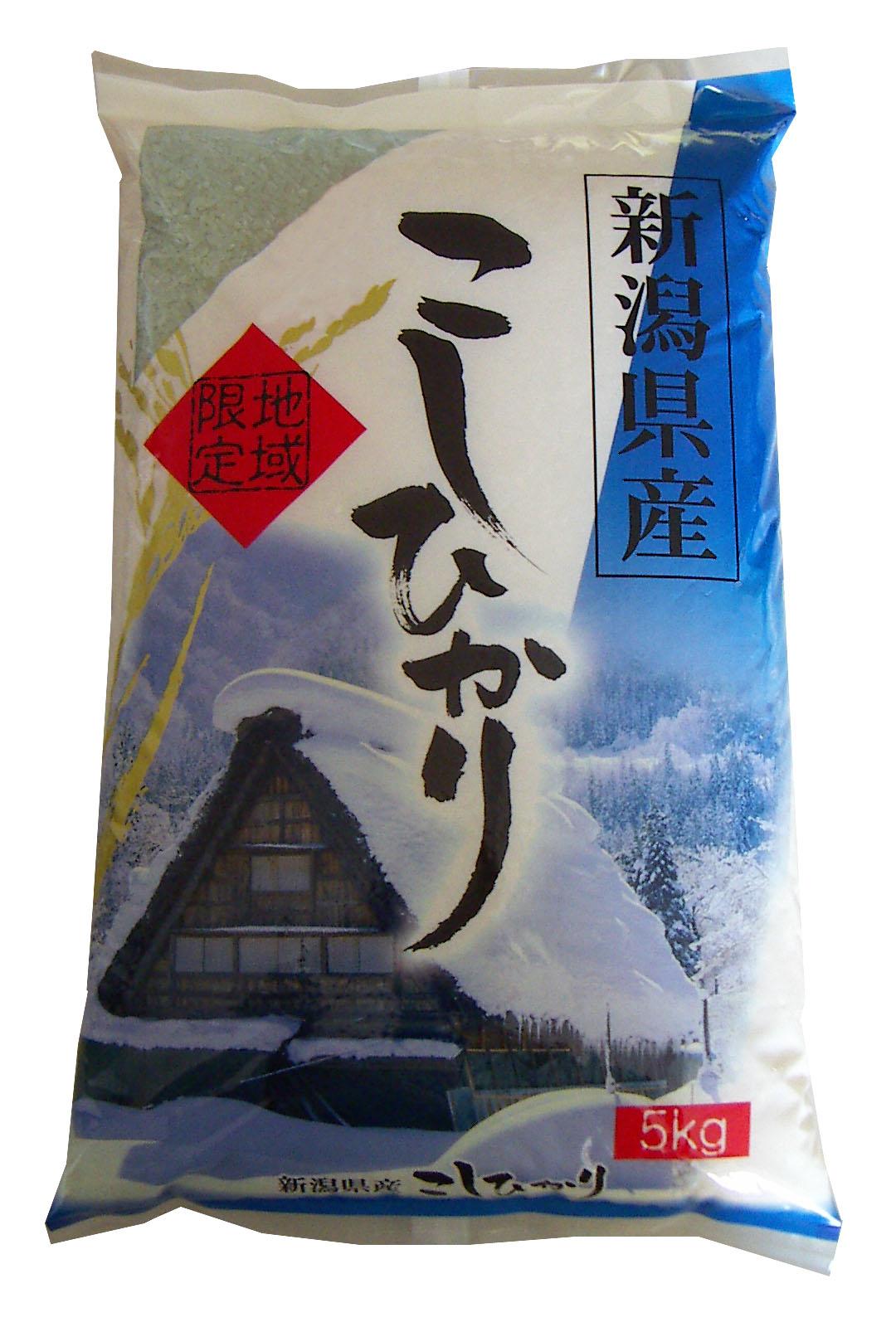 【新潟県】新潟県産コシヒカリ5kg