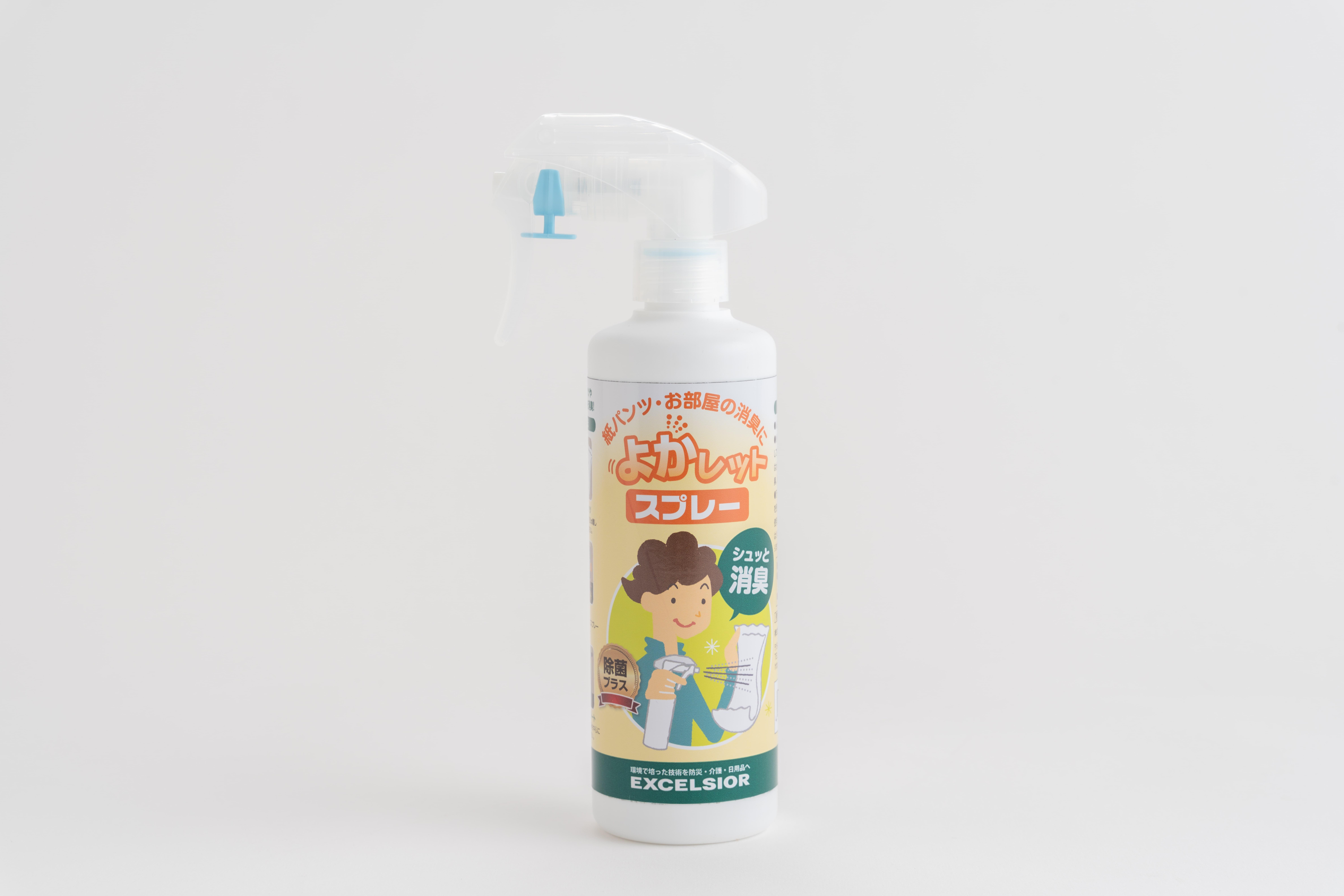 【エクセルシア除菌消臭スプレー】(新)よかレットスプレー 除菌プラス300ml 6本セット