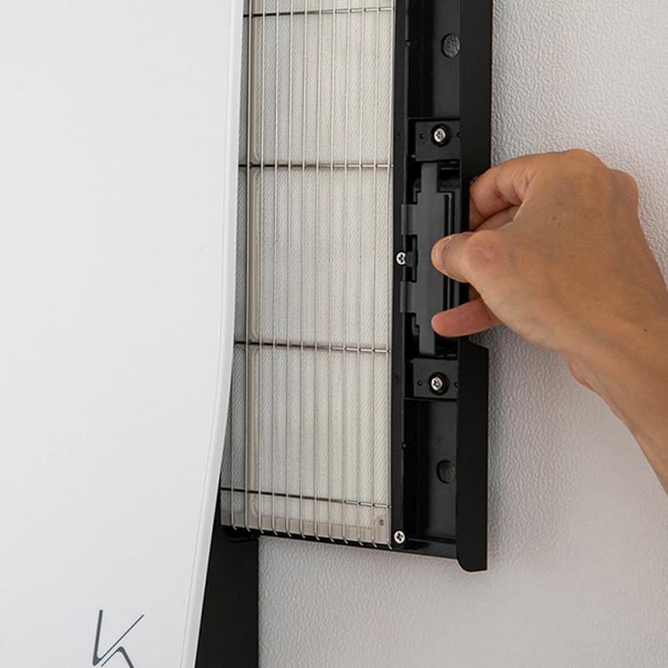 空気清浄機 カルテック 光触媒 除菌・脱臭機 TURND K(ターンドケイ) 壁掛けタイプ(8~16畳)